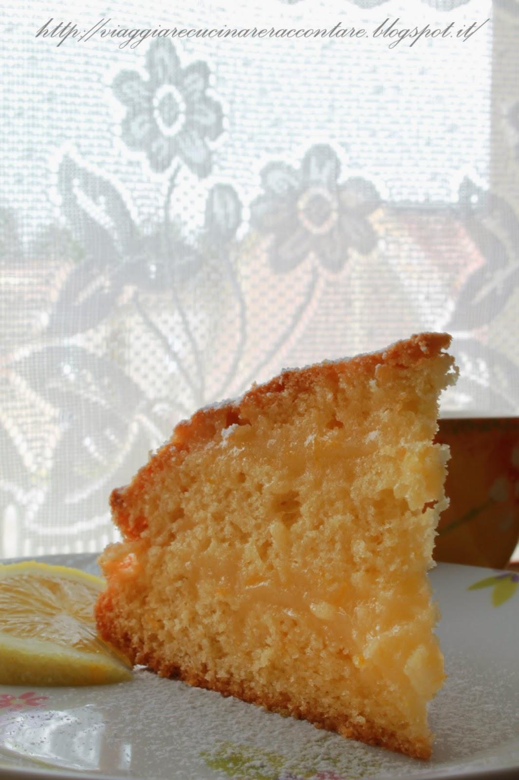 torta al limone con crema al limone senza latte