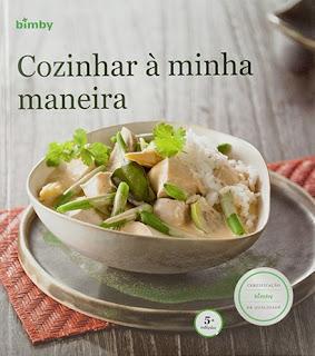 """Livro Bimby """"Cozinhar à Minha Maneira"""" nova capa 5ª edição"""