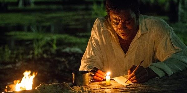 Chiwetel Ejiofor em 12 ANOS DE ESCRAVIDÃO (12 Years a Slave)