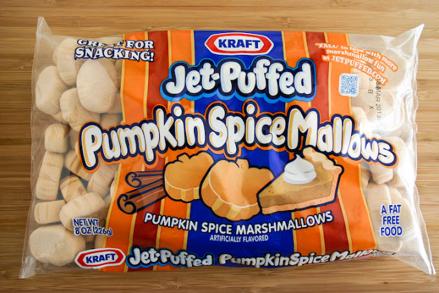 Pumpkin Spice S'mores Cracker Candy.
