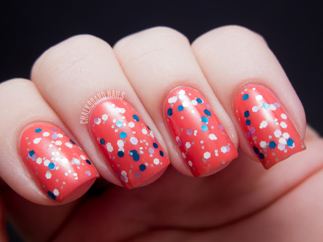 Chalkboard Nails: Candeo Colors Oceania