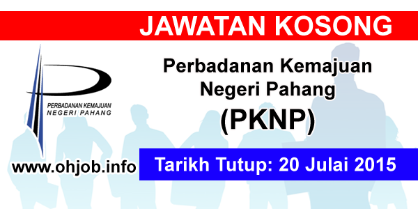 Jawatan Kerja Kosong Perbadanan Kemajuan Negeri Pahang (PKNP) logo www.ohjob.info julai 2015