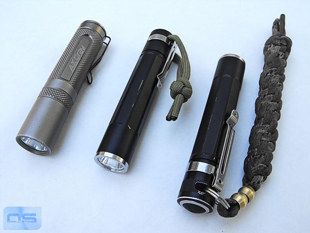 edc flashlights 1xAA
