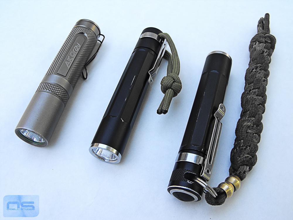 edc flashlights 1xAA