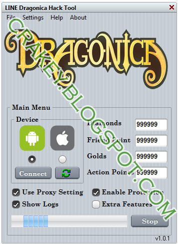 LINE Dragonica Hack Tool For Android and iOS 2015 Free Download