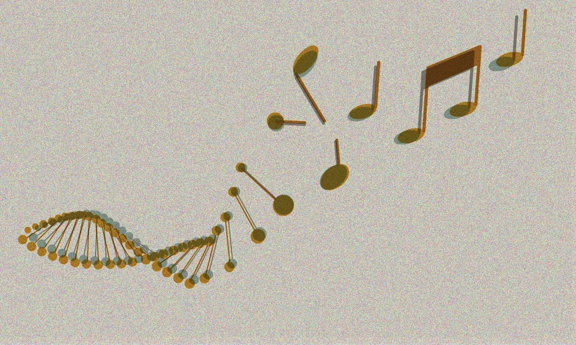 Ancient human history encoded in music's complex patterns