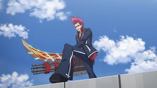 Anime Action Terbaik Gunslinger Stratos Kyouma Katagiri