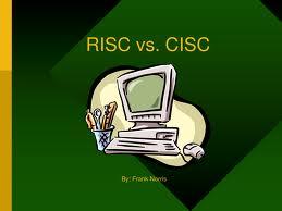 risc sisc Première partie : risc vs cisc et la mémoire cache risc vs cisc 1) qu'est ce  qu'un processeur  pour rappel, le processeur (ou cpu de l'anglais central.