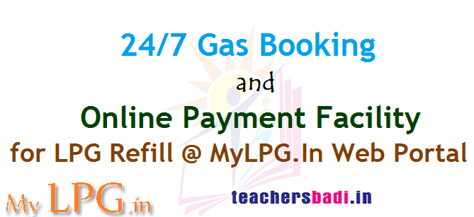 24/7 Gas Booking-Online Payment Facility for LPG Refill ...