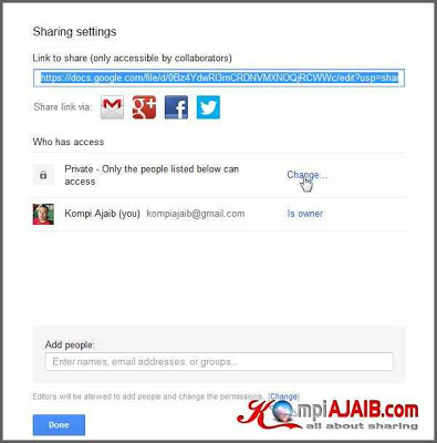 Cara Upload File, HTML, CSS, Javascript Di Google Drive 3