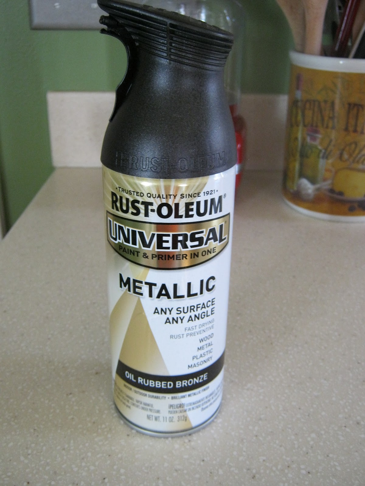 Antique Bronze SprayPaint RustOleum