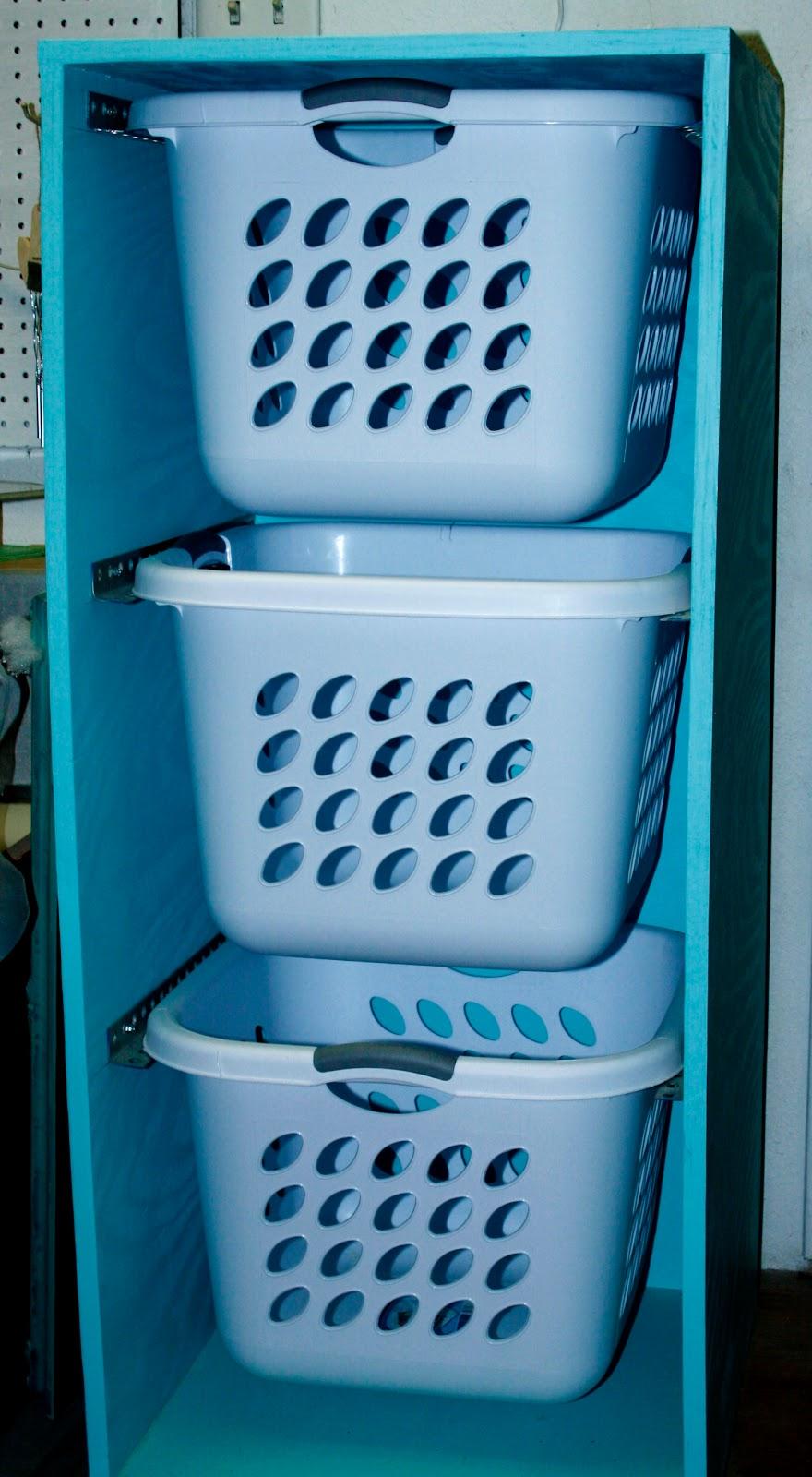 always chasing life laundry basket dresser