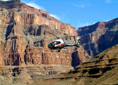 a trip to the Grand Canyon South Rim with Helicopters