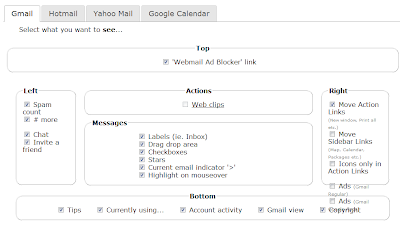 tirar banners de publicidades gmail