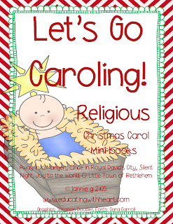 https://www.teacherspayteachers.com/Product/Lets-Go-Caroling-Religious-Christmas-Carol-Minibooks-1007694