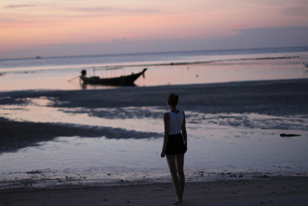 Koh Phangan: Anti-Fullmoon Party und wunderschöne Sonnenuntergänge