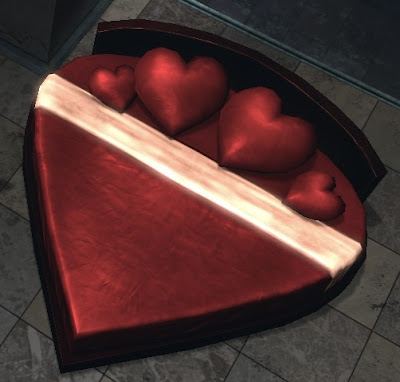 Valentine's Heart Bed