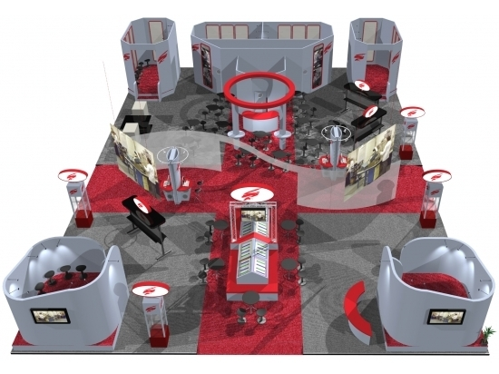 Booth Design Ideas building a better booth design and planning next level displays trade show booth design ideas About The Exhibition Booth Design I Had Get Some Ideas Ad Well As Inspiration Based On The Examples Now I Will Share It On Here As A Reference