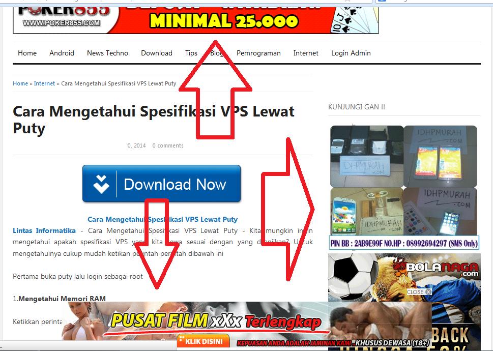 Menghilangkan IKLAN Dengan Adblock