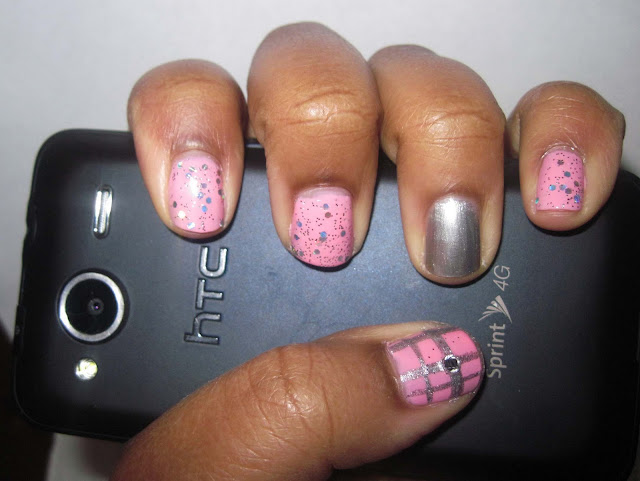 Nail art blog, nail art, pink nails