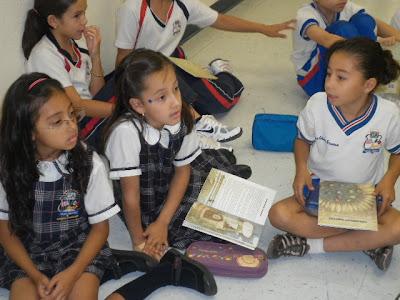 En Ciudad Juárez, México... Con los niños del Colegio Americano.