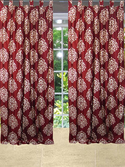 http://www.mogulinterior.com/patterned-curtains-red-2-sari-drapes-window-panels.html