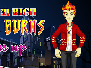 Juego de vestir Monster High: Heath Burns