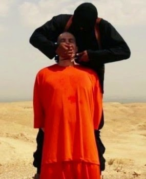 Showing The Beheading Of A Us Journalist James Foley(who Was Declared