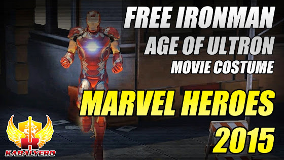 Marvel Heroes 2015 Free Ironman Age Of Ultron Movie Costume