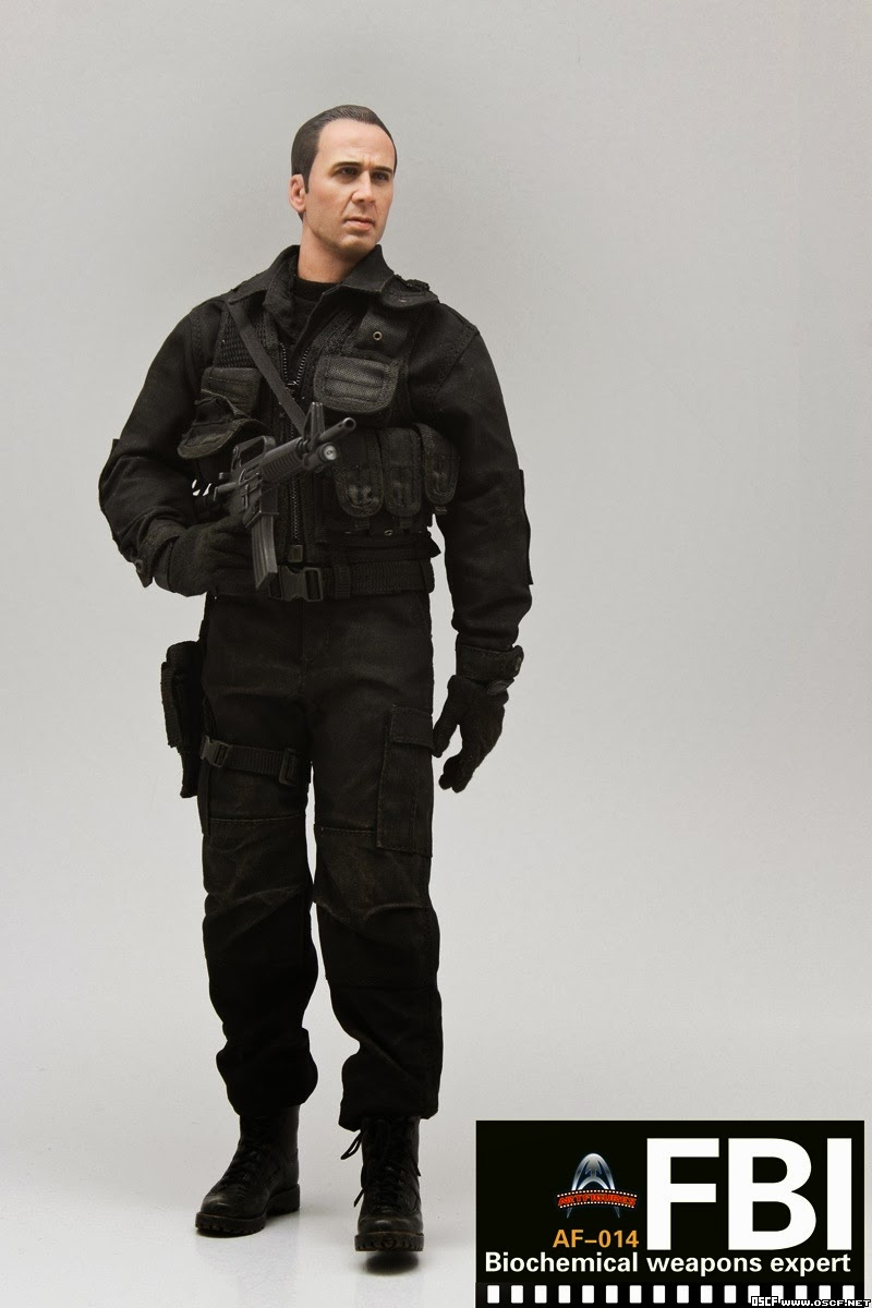 onesixthscalepictures: Art Figures FBI Biochemical Weapons ... Fbi Combat Uniform