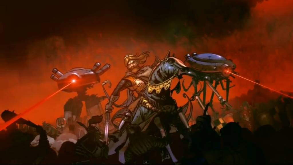 Henryk Pobozny broniacy Wroclaw przed atakiem Mongolow przy pomocy kosmitow - L.U.C. Kosmostumostów