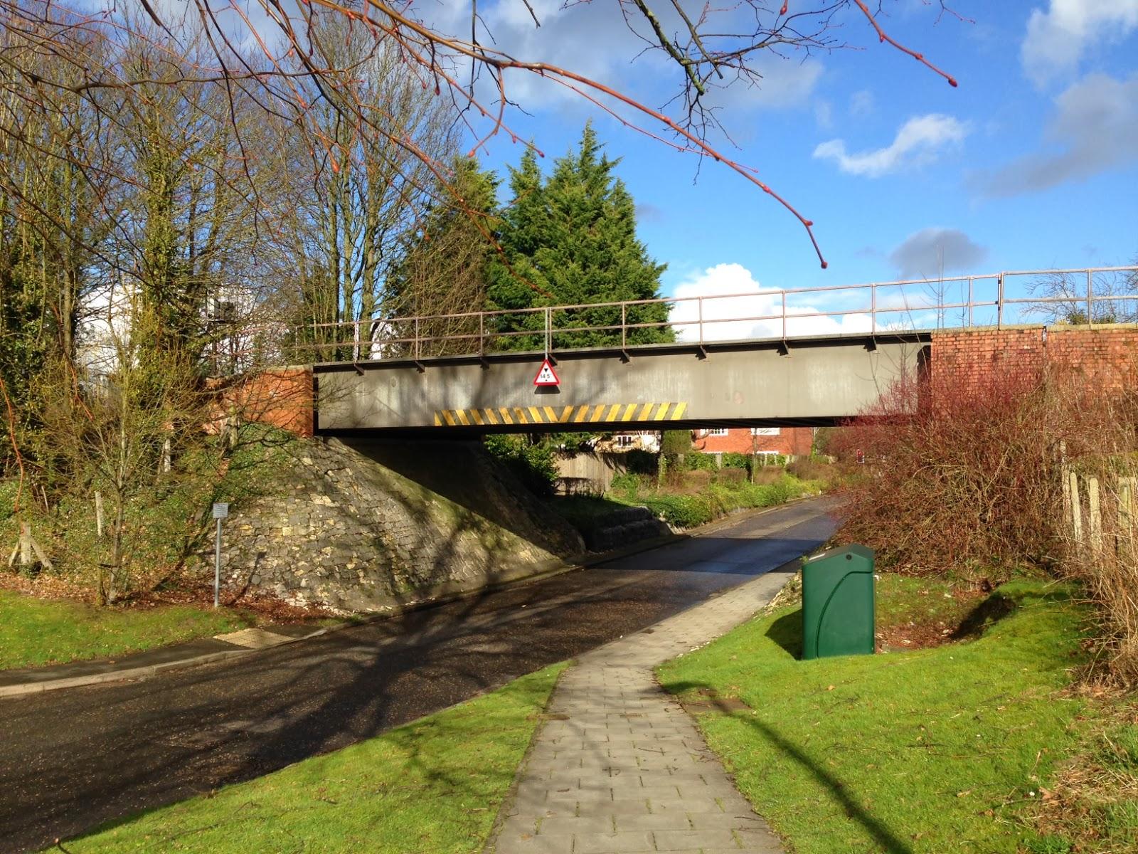 Disused(?) railway bridge, Regent Park, Princes Risborough