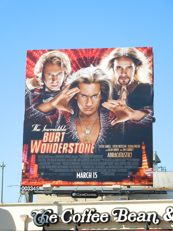 Burt Wonderstone film billboard