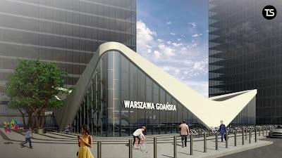 Koncepcja wielofunkcyjnego węzła komunikacyjnego Warszawa Gdańska