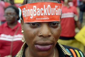 NIGERIA: BRINGBACKOURGIRLS CAMPAIN HEADS TO PRESIDENTS OFFICE: