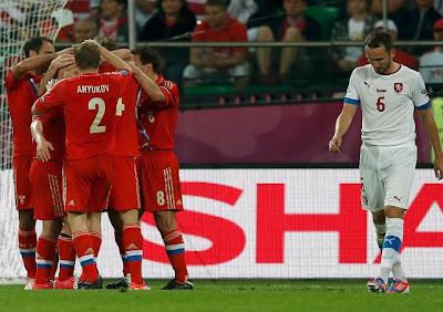 Video Hasil Rusia vs Ceko 4-1 Euro 2012