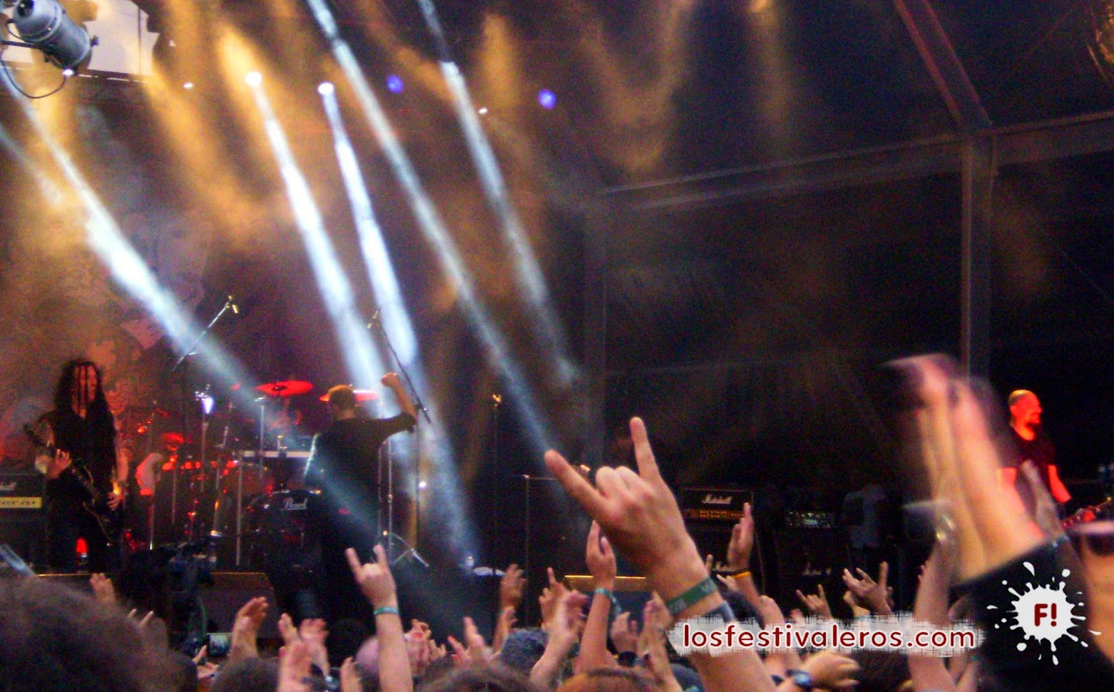 Paradise Lost, Vagos Open Air, 2014, Festival