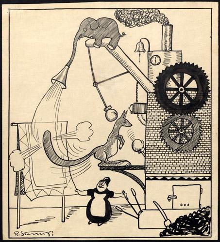 R. Storm Petersen, Opfindelser, 1914