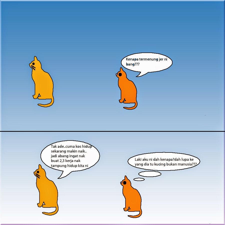 Lawak Kucing Suami Isteri