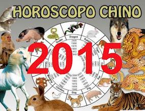 HORÓSCOPO CHINO 2015