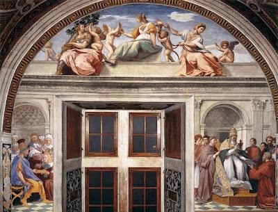pintura del vaticano con sylvester stallone