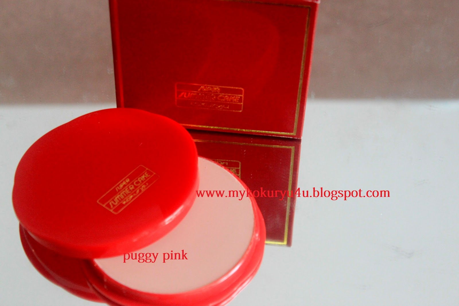 Beside russet,and orange blush puggy pink