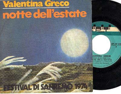 Sanremo 1974 - Valentina Greco - Notte dell'Estate