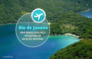 Rio de Janeiro será beneficiado pelo programa de aviação regional