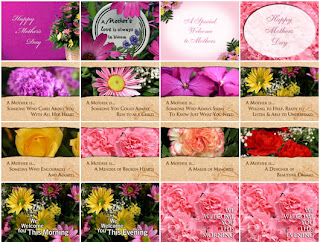 Christian Mother's Day Background Template