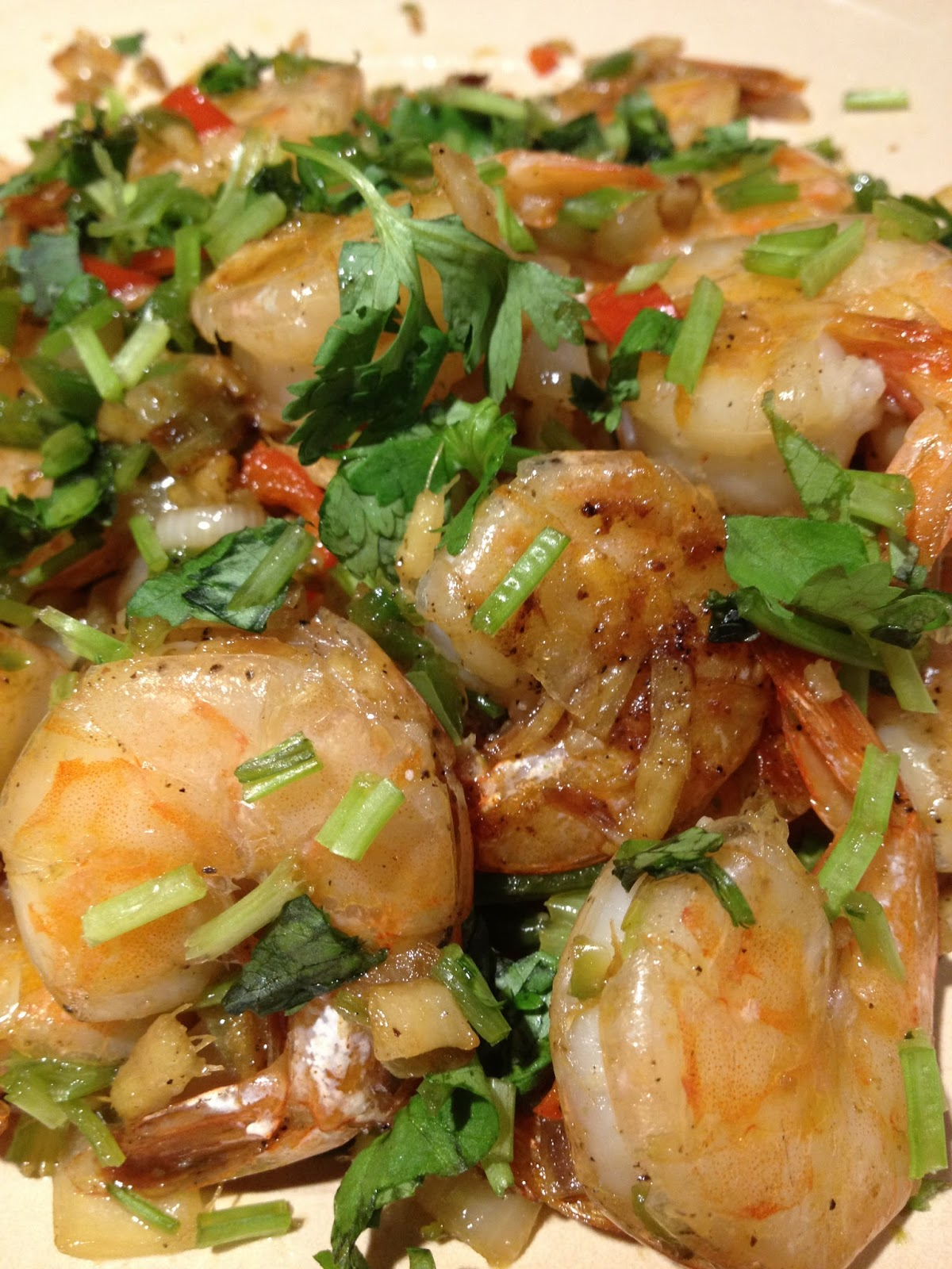 Simple Salt and Pepper Shrimp
