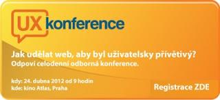 Zaregistrujte se na UX konferenci