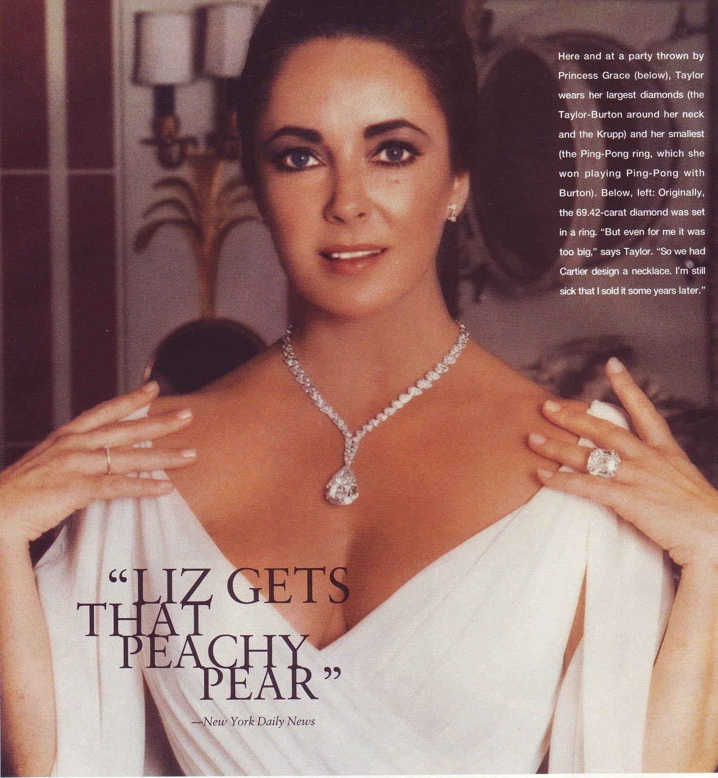 Gracie Jewellery Elizabeth Taylor Her Jewellery
