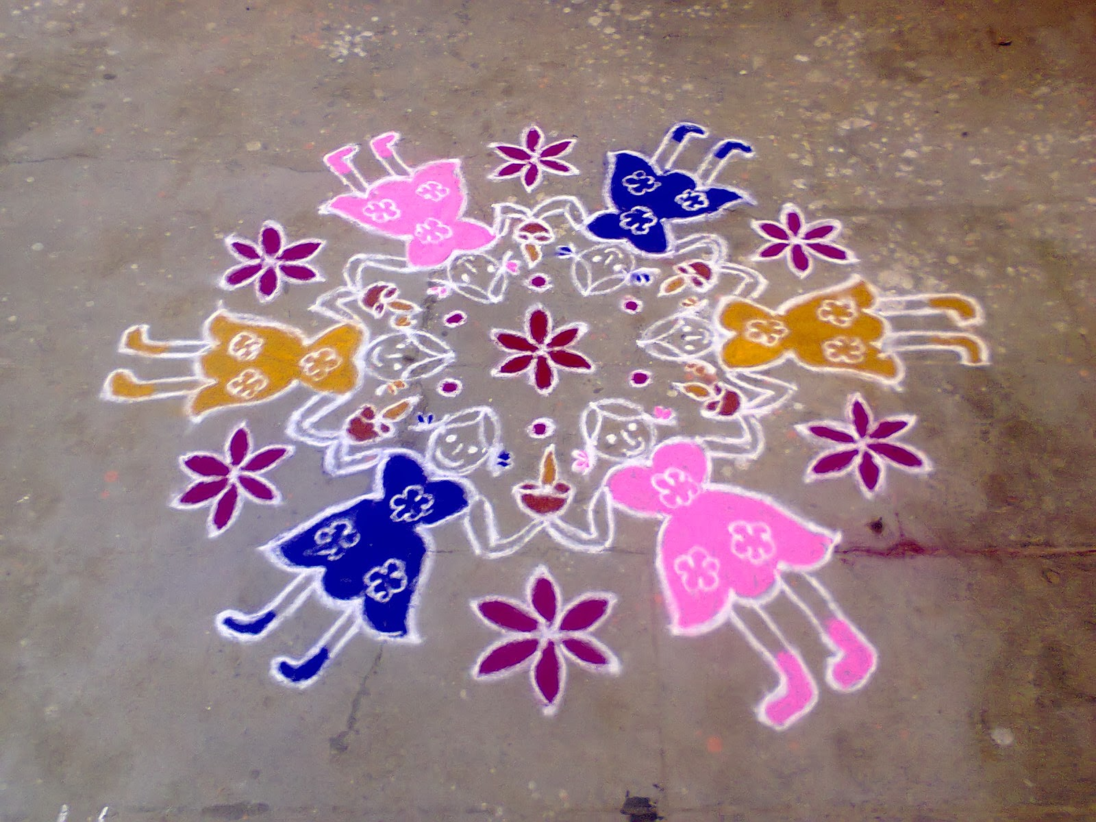 womens_day_celebration_rangoli