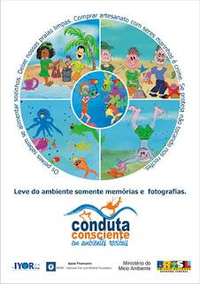 CAMPANHA CONDUTA CONSCIENTE EM AMBIENTES RECIFAIS